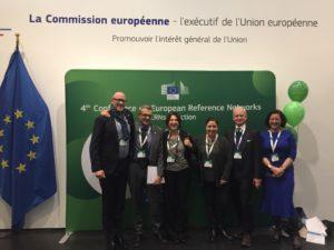 Foto di gruppo alla la quarta Conferenza sulle Reti di Riferimento Europee