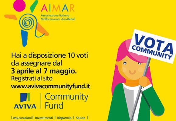 Vota il nostro progetto nell'Aviva Community Fund