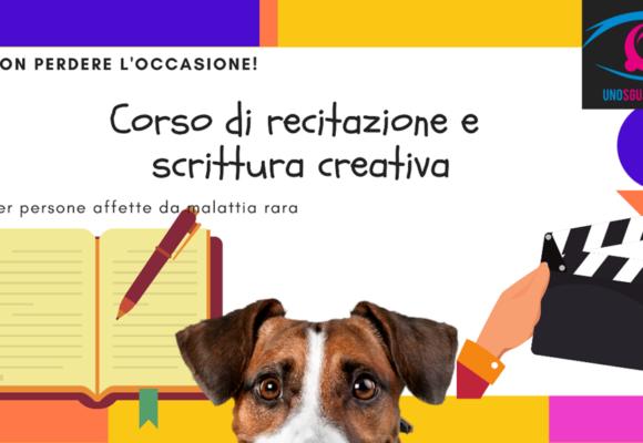 Corso di recitazione e scrittura creativa