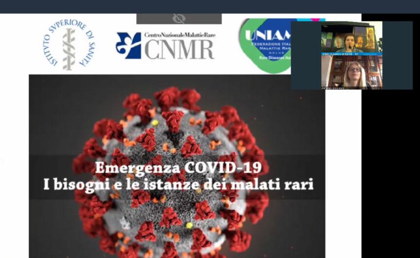 Malattie Rare e Covid-19. Cosa è successo