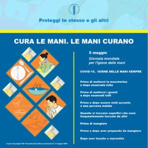 5 Maggio:Giornata Mondiale dell'Igiene delle Mani