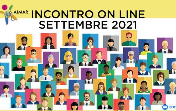 INCONTRO ON LINE SETTEMBRE 2021